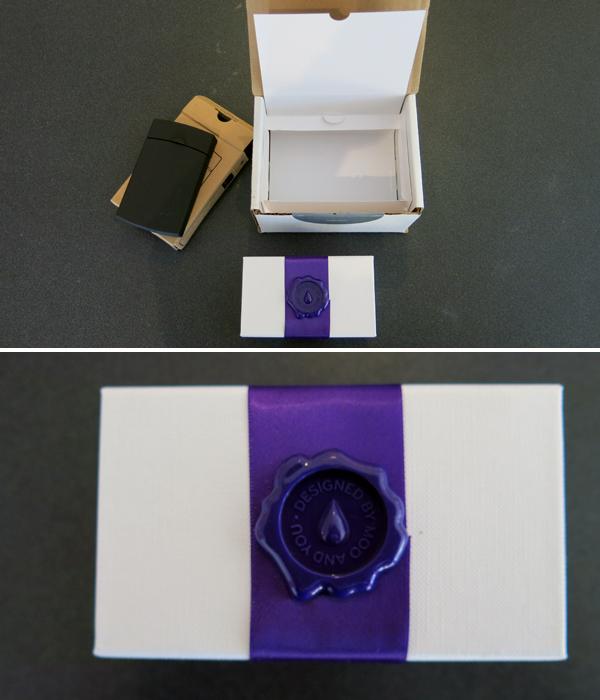 magical purple ribbon