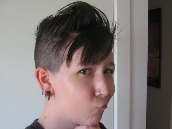 natural hair colour