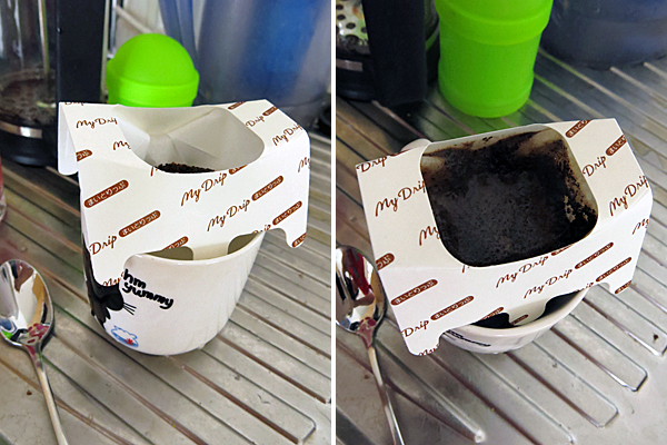 Disposable coffee drip filter papers.
