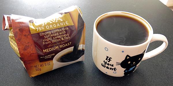 Java flavoured Teeccino.