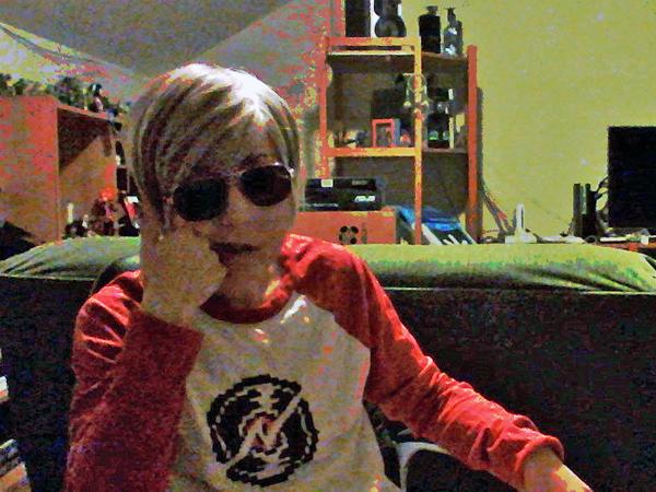 Shittiest webcam selfie I could muster.