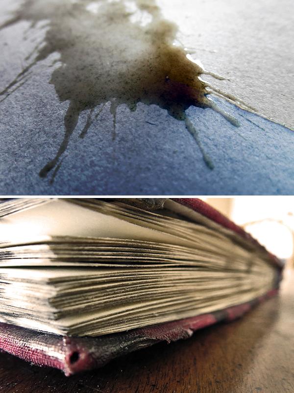150gsm acid-free paper.
