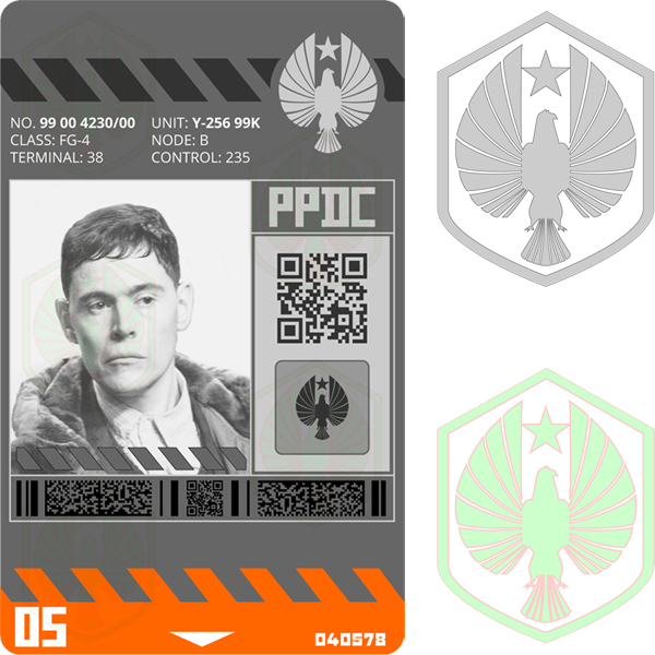 PPDC ID badge