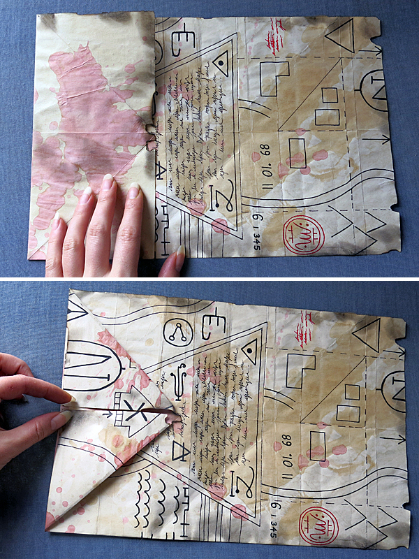 map/hat folding 1