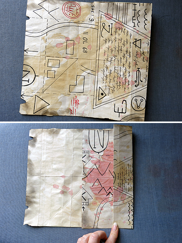 map/hat folding 3