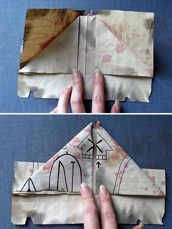 map/hat folding 5