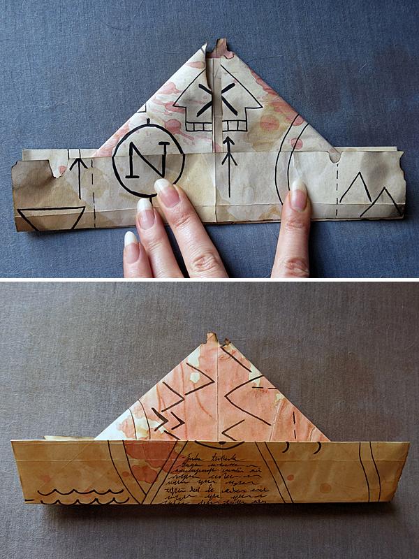 map/hat folding 6