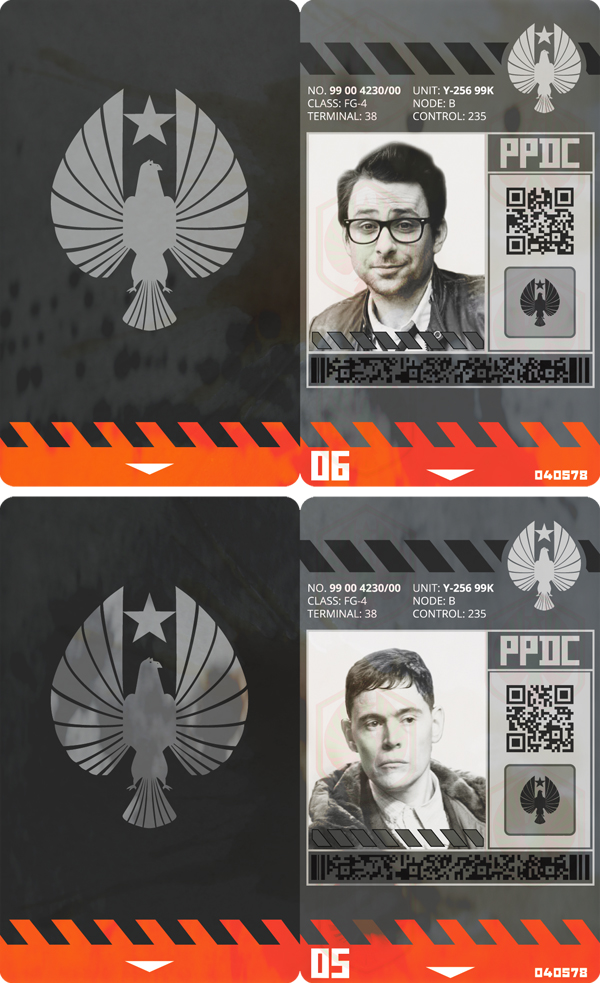 PPDC K-Science ID badges