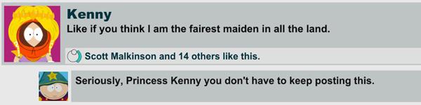 I <3 Princess Kenny!