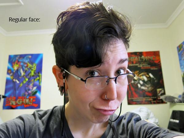 regular face