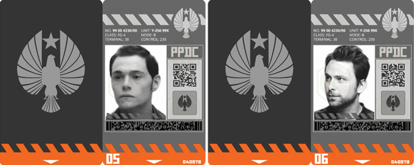 Revamped PPDC ID badges.