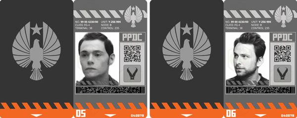 k-sci badges kaiju ver