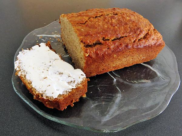 gluten-free vegan banana bread