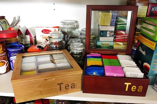 Aldi tea-chests