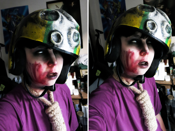 Zombie Keen face