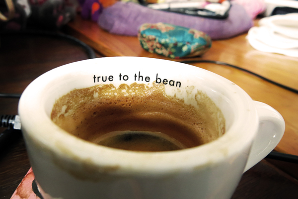 True to the bean.