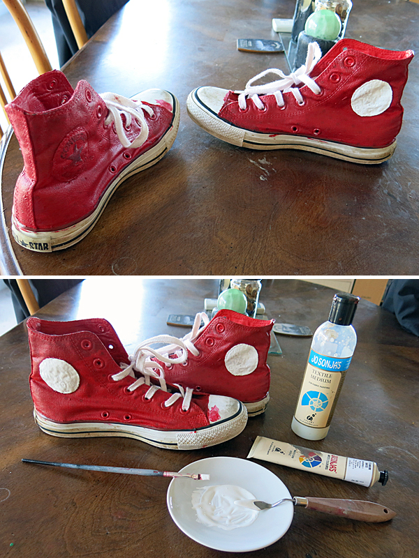 painted chucks