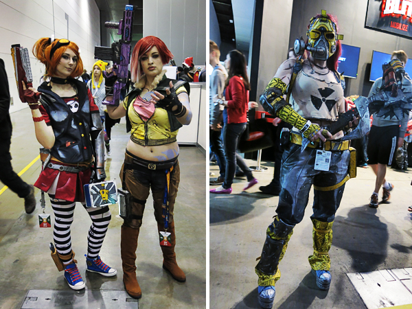 Borderlands cosplayers