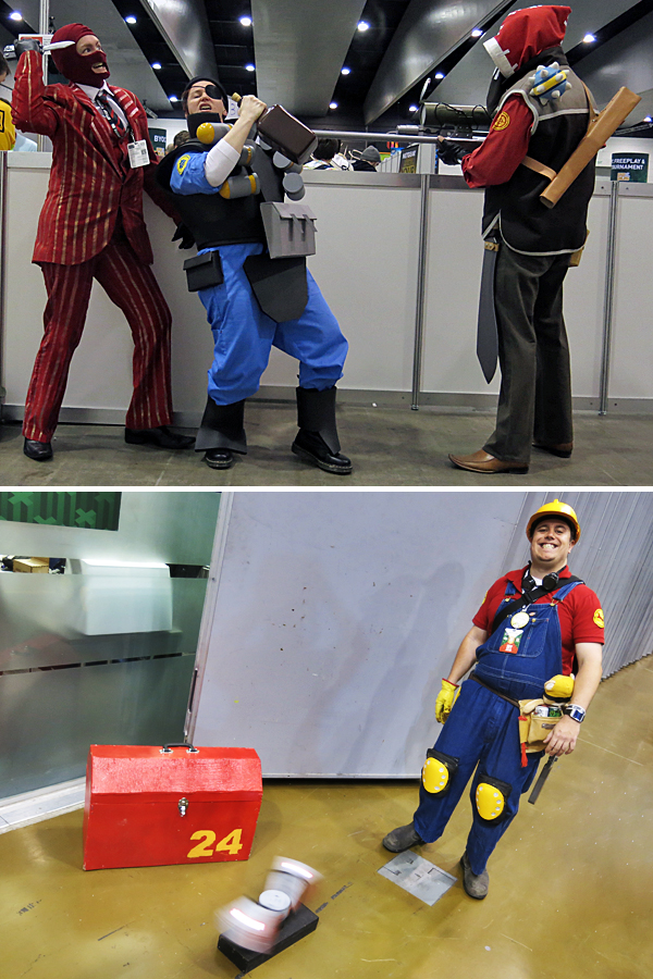 TF2 cosplayers