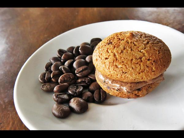 coffee maccaron