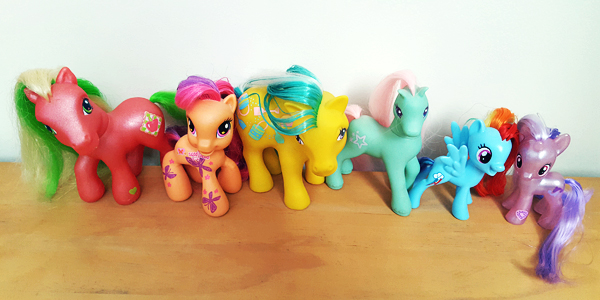 My Little Pony rainbow.