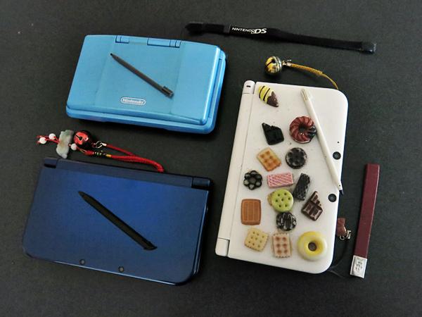 various Nintendo DS consoles